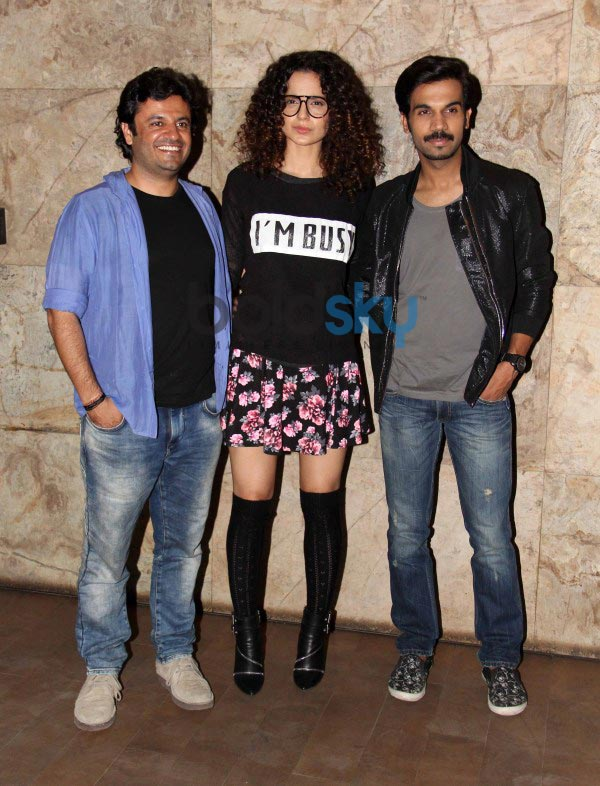 Bollywood celebs at special screening of Queen