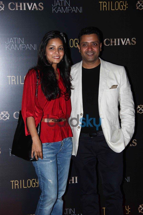 Lara Dutta & Dia Mirza at Chivas bash