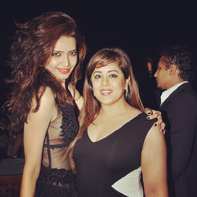 Ritesh and Genelia at Karishma Tanna's Birthday Bash 2014
