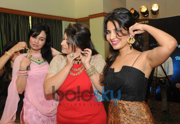Celebs at the Contemporary Indian Jewellery Showcase