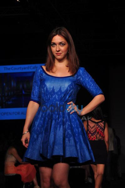 Guest during LFW 2014