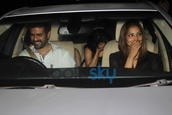 Harman, Bipasha, Shilpa snapped at yauatcha restaurent in bandra