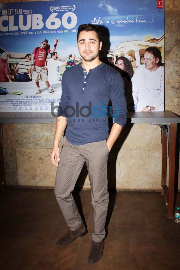 Imran Khan at the special screening of Club 60 at Lightbox