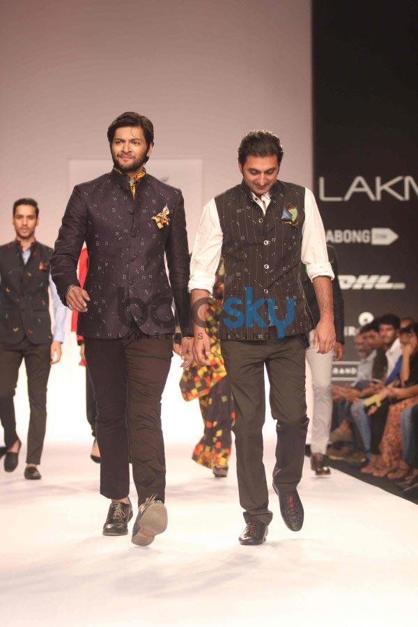 LFW 2014 Digvijay Singh Show