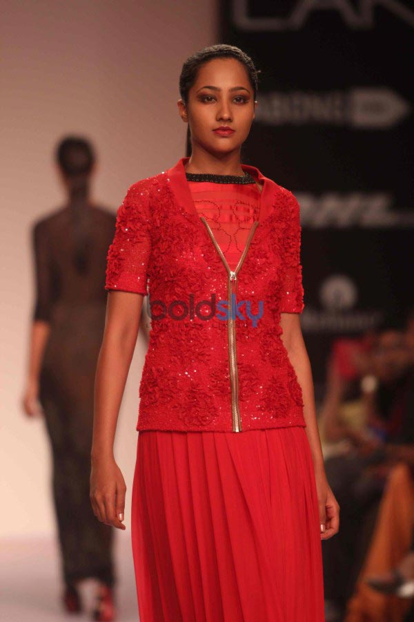 LFW 2014 Soup Sougat Paul show