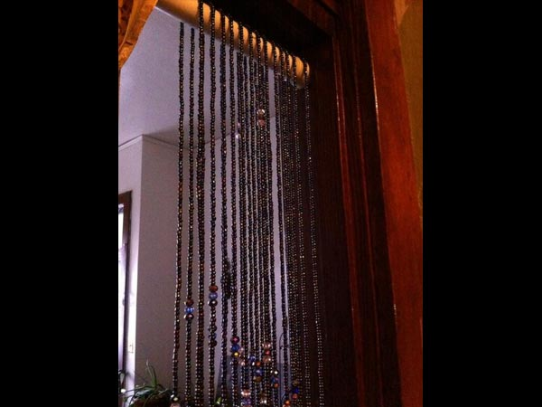 Summer House Curtains With Beads