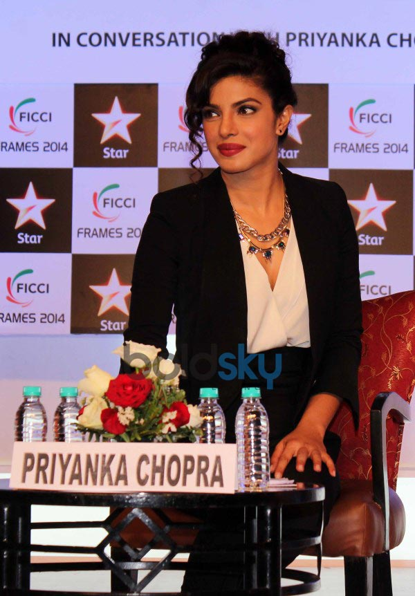 Priyanka Chopra at FICCI Frames 2014