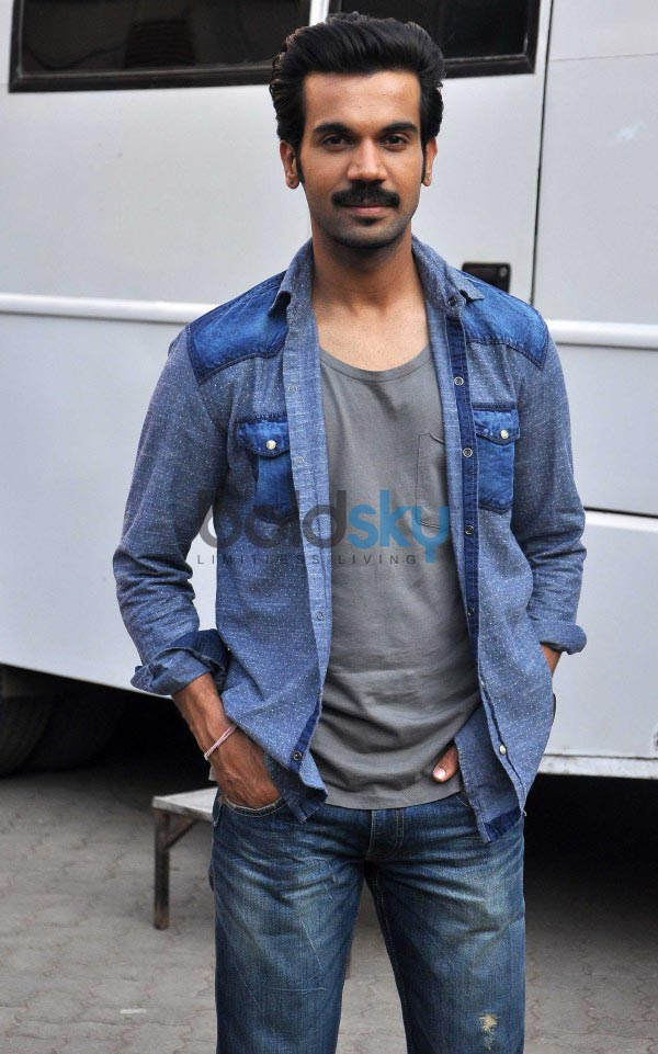Actor Rajkumar Rao Rajkumar Rao at Queen Special