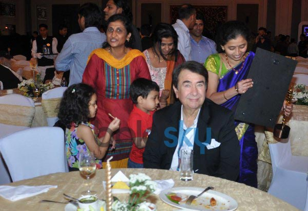 Kangana Ranaut and Randhir Kapoor at Times Now Foodie Awards