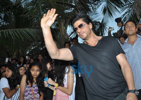 Shah Rukh Khan at Youtube FanFest 2014
