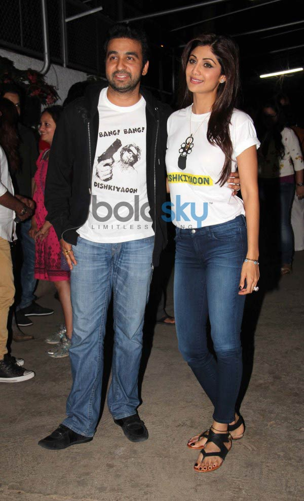 Celebs at special screening of Dishkiyaoon
