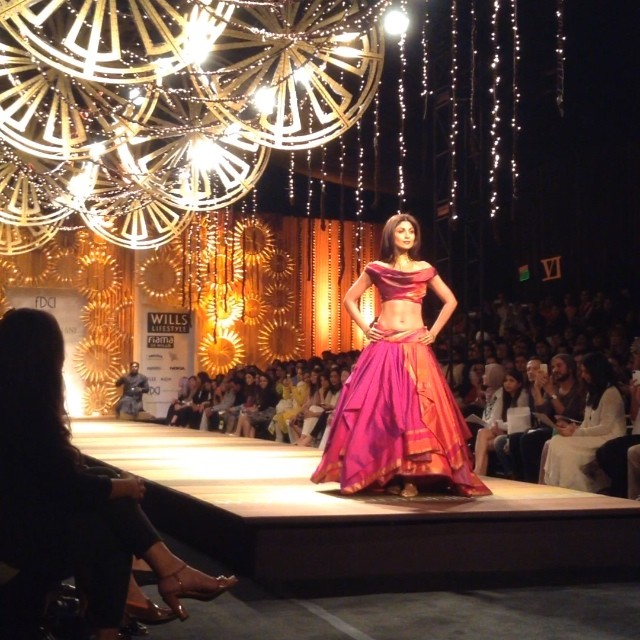 Wills India Fashion Show 2014