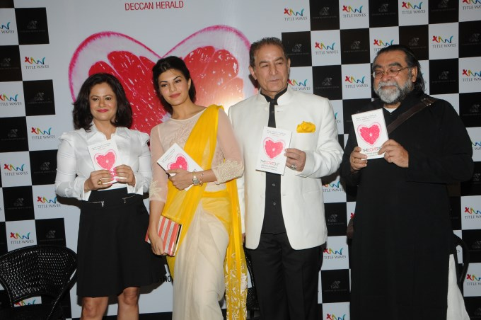 Jacqueline Fernandez at Launch of Book The Love Diet
