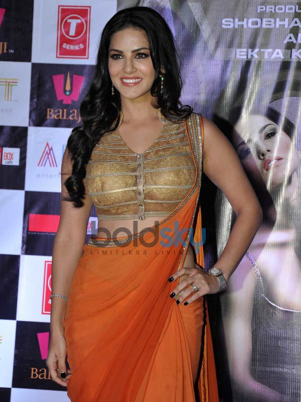 Sunny Leone at Ragini MMS 2 success celebration