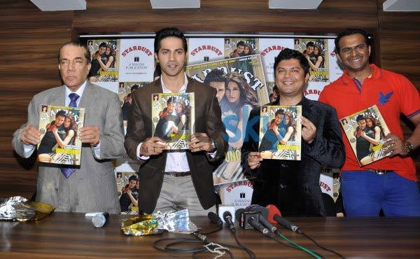 Varun Dhawan unveil Stardust magazine cover
