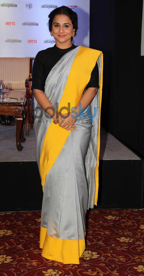 Vidya Balan at Indian Film Festival press conference