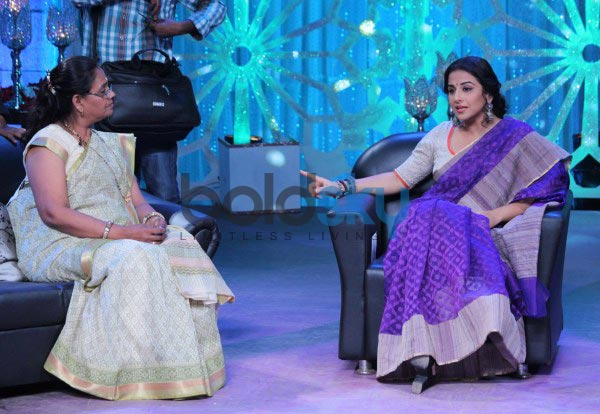 Vidya Balan at Women's Day special shoot