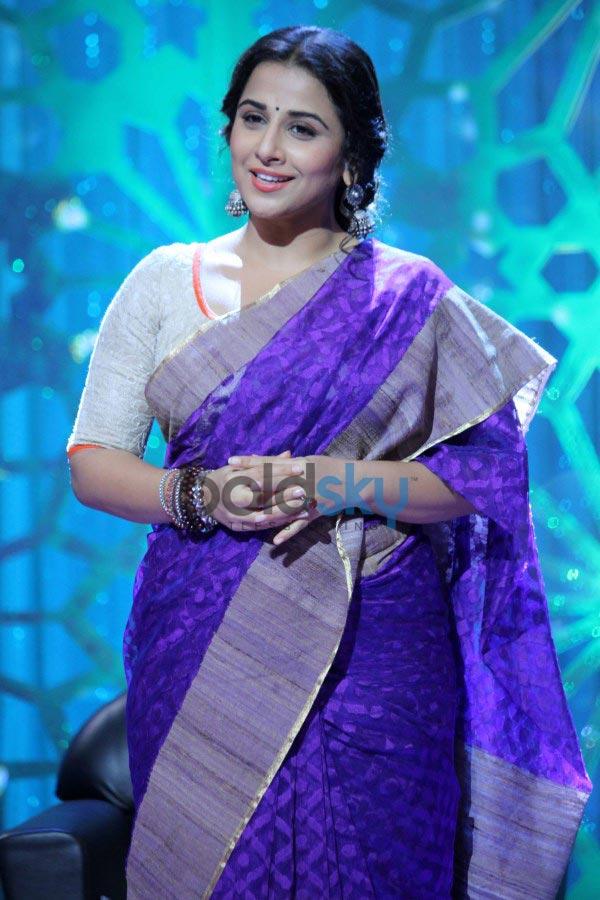 Vidya Balan at Women's Day special shoot
