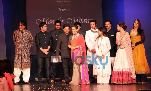 Celebs stuns at Men For Mijwan charity fashion Show