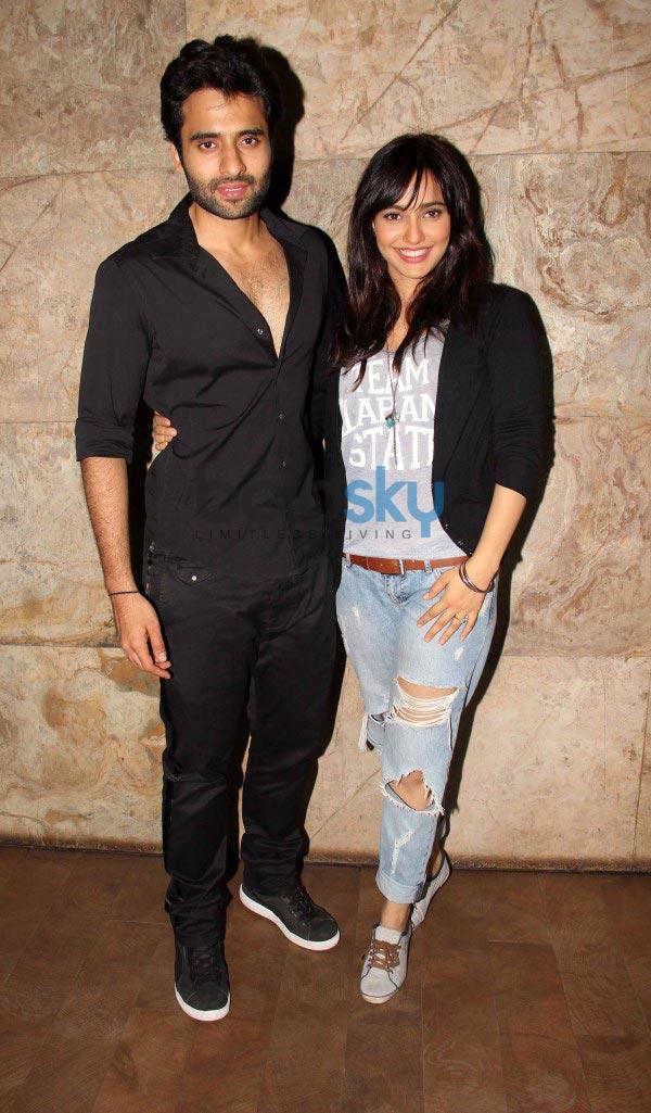 Arjun Kapoor and Ranbir Kapoor at Youngistaan screening