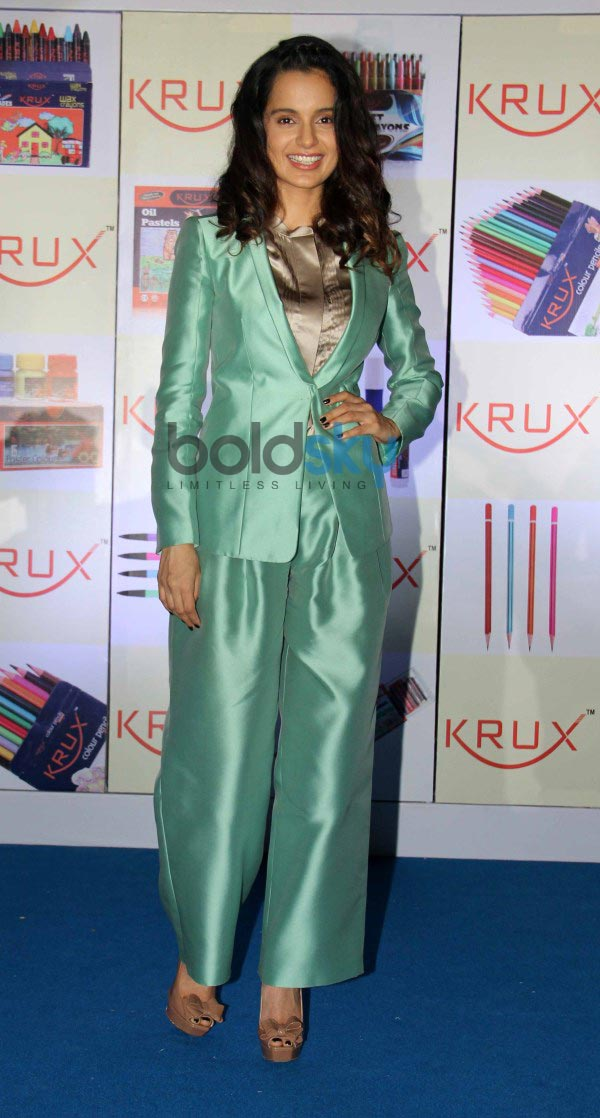 Kangna Ranaut at Krux Stationary products launch