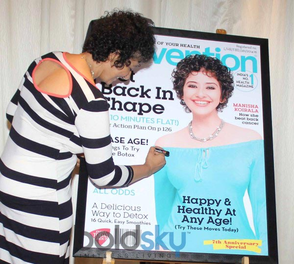 Manisha Koirala at Prevention at novotel magazine launch