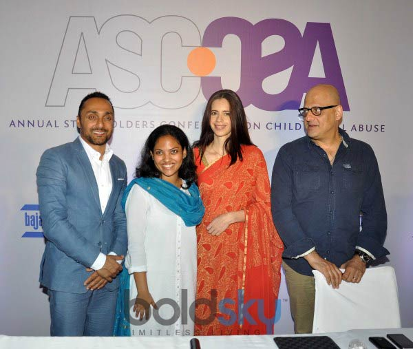 Rahul Bose and Kalki Koechlin at Announcement of ASCCSA