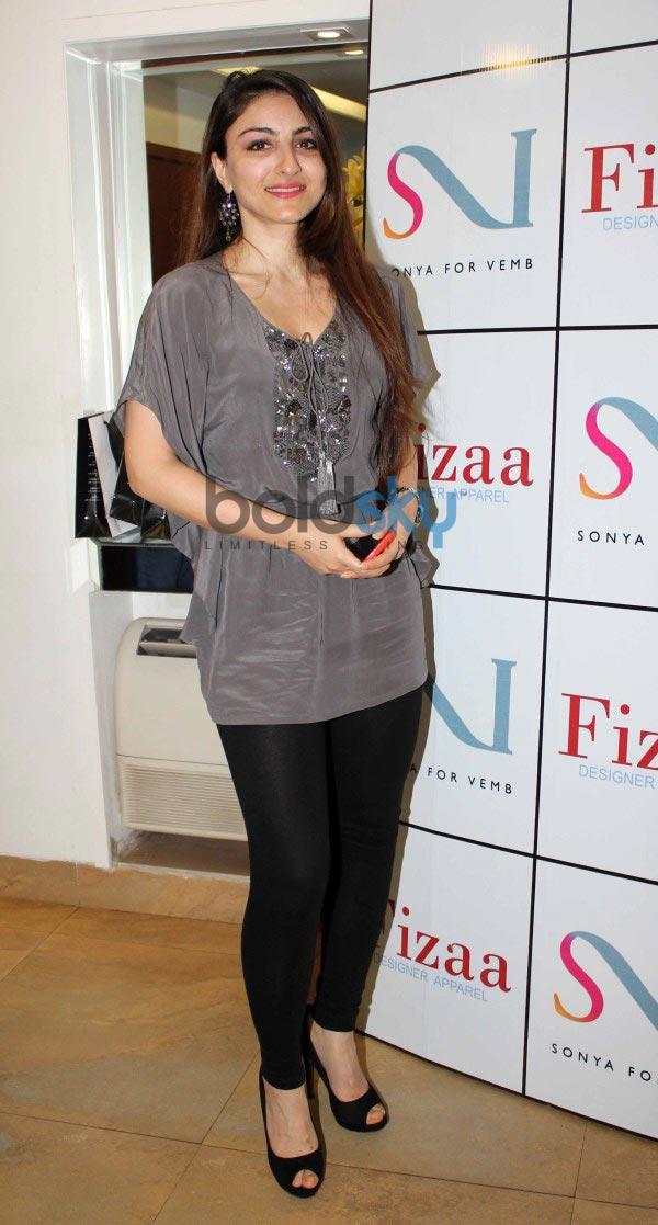 Designer Sonya Vazifdar new collection launch