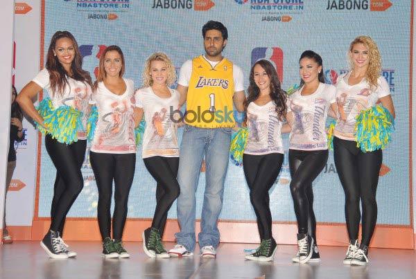 Abhishek Bachchan launches NBA Store