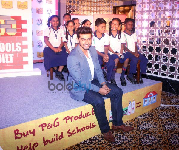 Arjun Kapoor campaigns for P&G Shiksha 2014