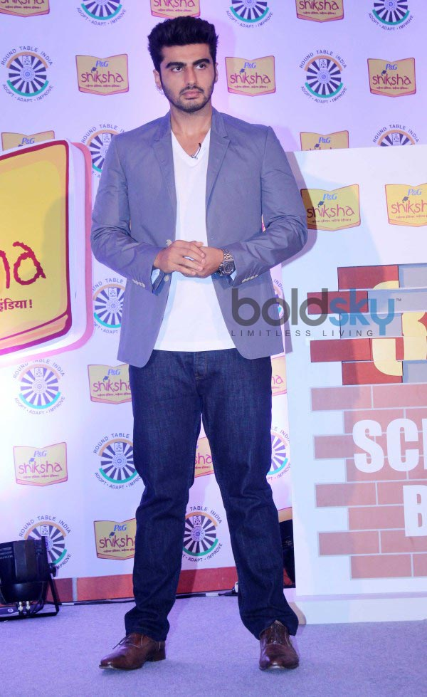 Arjun Kapoor campaigns for P&G Shiksha 2014