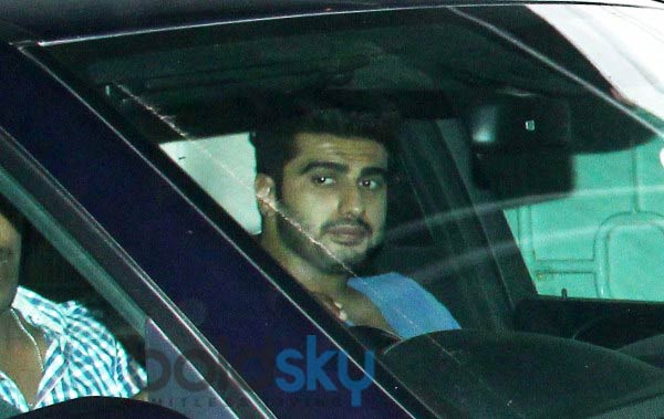 Arjun Kapoor and Varun Dhawan attends 2 States screening