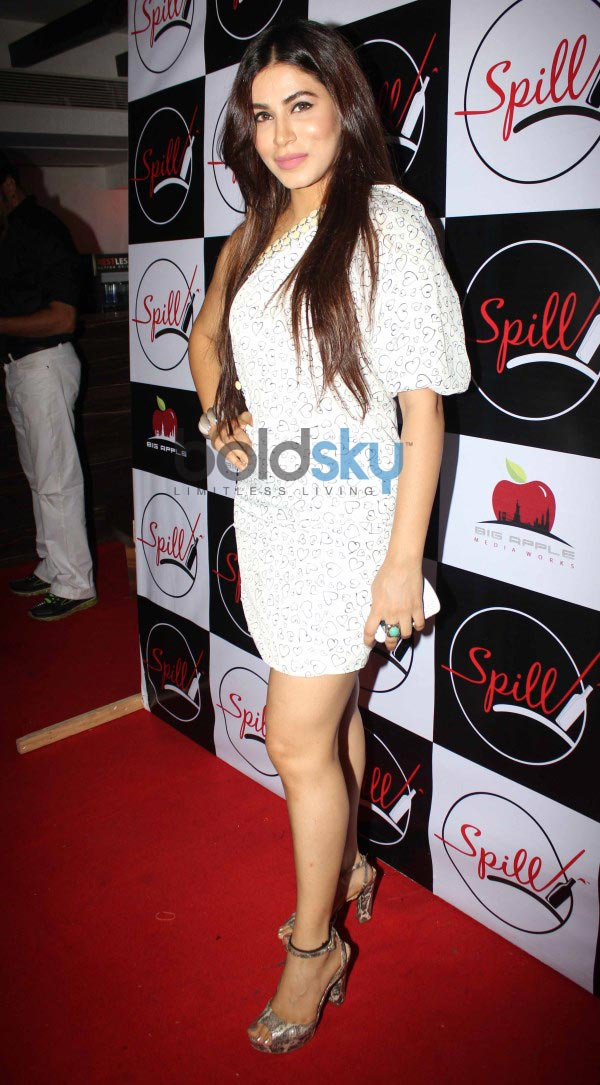 Bollywood celebs at launch of Spill Bar at Andheri