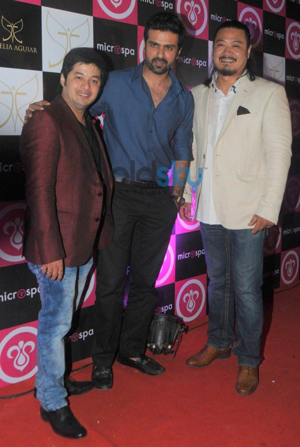 Celebs at launch of Microspa