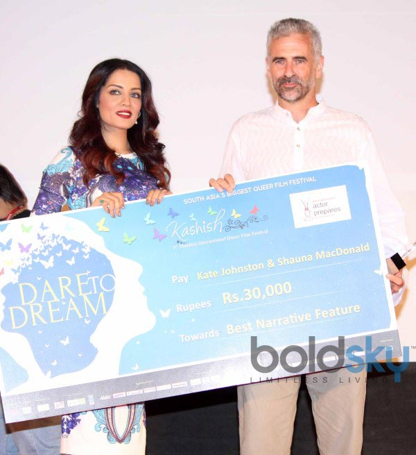 Celina Jaitly at International Queer Film Festival