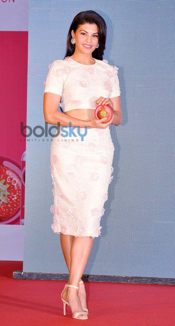 Jacqueline Fernandez as brand ambassador of Body Shop