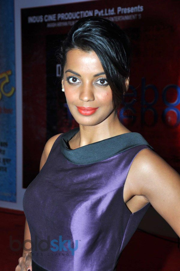 Mugdha Godse at muhurat of film Dangerous Facebook