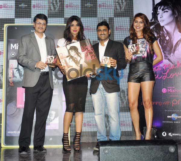 Priyanka Chopra stuns during her album launch
