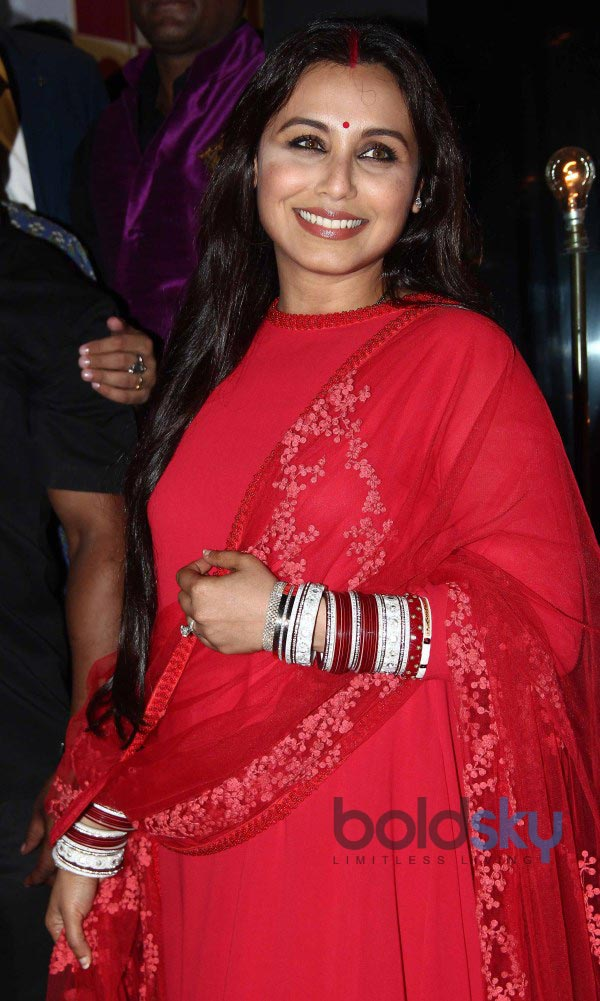 Rani Mukerji stuns at Diva'ni store launch