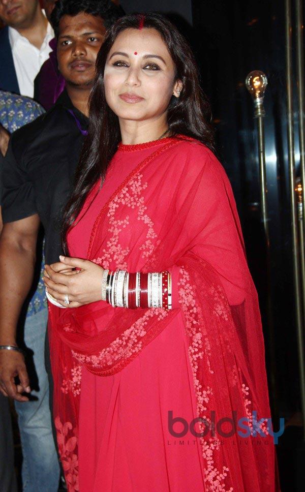 Rani Mukerji stuns at Diva'ni store launch