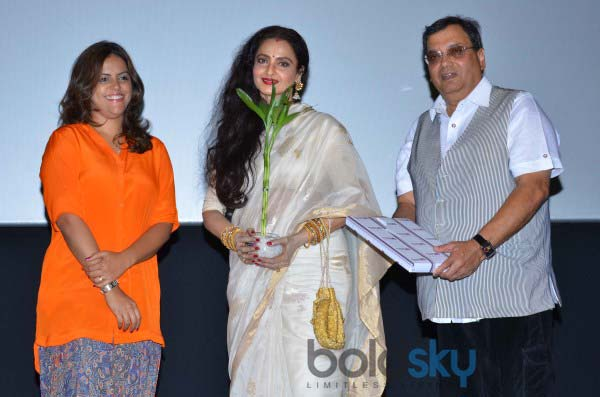 Vidya Balan and Rekha at Whistling Woods Cenema Festival