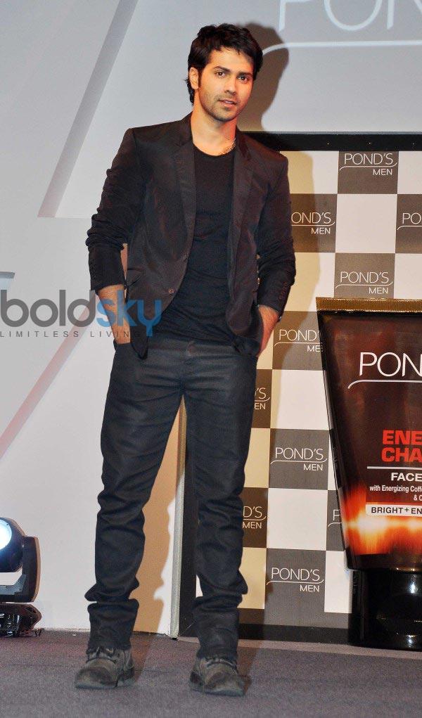 Varun Dhawan launches Ponds Mens range