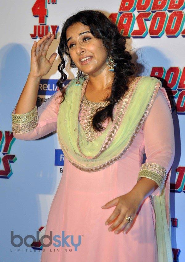 Vidya Balan at Bobby Jasoos Trailor Launch