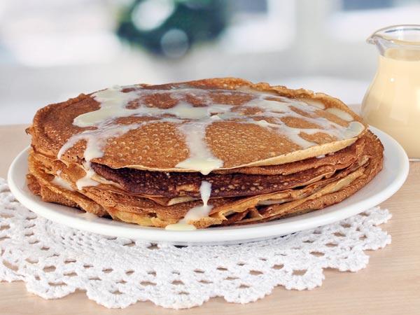 Vegetarian Pancake Recipes