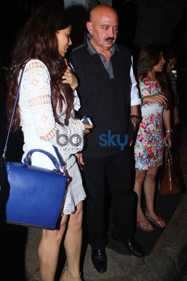 Hrithik Roshan with Family snapped at Nido