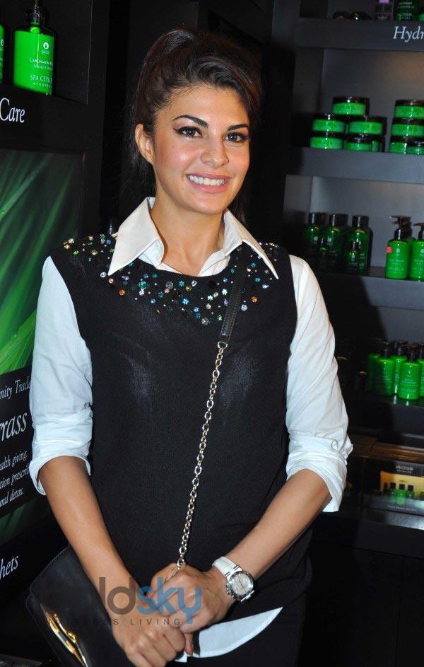Jacqueline Fernandez at Launch of SPA CEYLON
