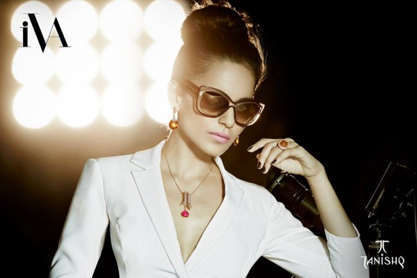 Kangana Ranaut stuns during Tanishq Photoshoot