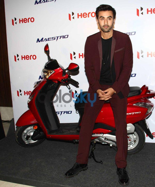Ranbir Kapoor at Hero Motocorp Meet Event