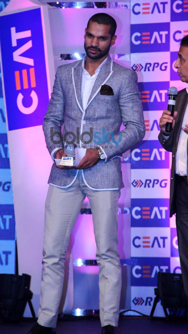 Chitrangada Singh at CEAT Cricket Ratings Awards 2014