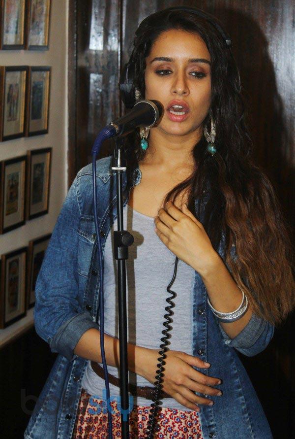Shraddha Kapoor stuns at Ek Villain Song Recording